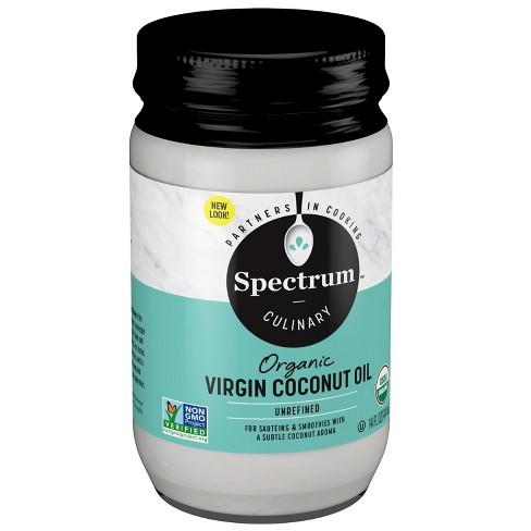 Spectrum Organic Virgin Coconut Oil 14 oz - image 1 of 3