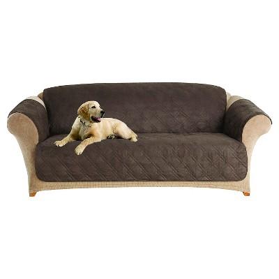 Furniture Friend Microfiber Non-Skid Sofa Furniture Protector - Sure Fit