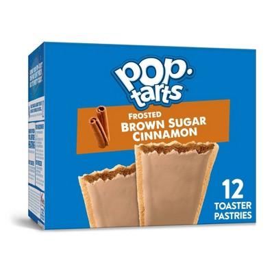 Kellogg's Pop-Tarts Frosted Brown Sugar Cinnamon Pastries - 12ct/20.31oz