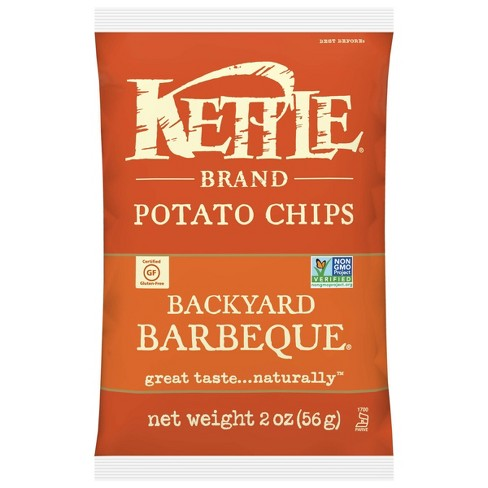 Kettle Caf BBQ Potato Chips - 2oz - image 1 of 4