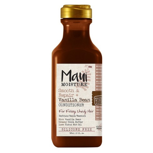 Maui Moisture Smooth & Repair + Vanilla Bean Conditioner for Frizzy Unruly Hair - 13 fl oz - image 1 of 3
