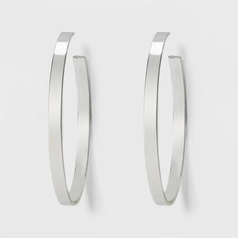 SUGARFIX by BaubleBar Bold Hoop Earrings - image 1 of 2