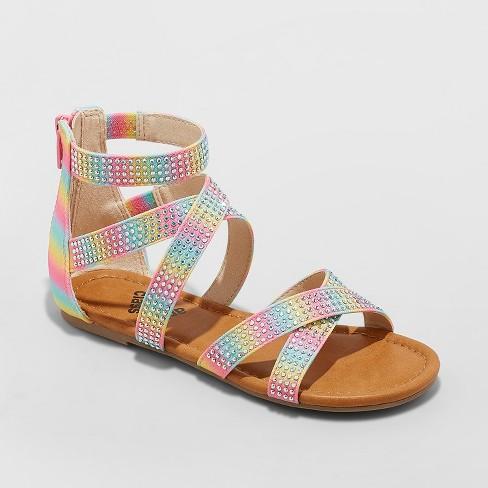 0dbe0fed3100 Girls  Janeane Embellished Gladiator Sandals - Art Class™   Target