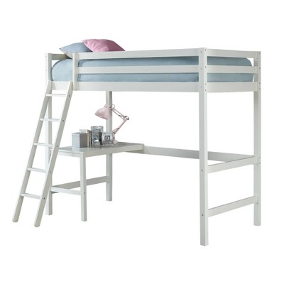 Kids' Twin Caspian Study Loft White - Hillsdale Furniture
