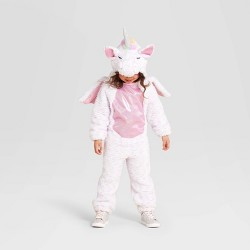 Toddler Plush Unicorn Halloween Costume Jumpsuit - Hyde & EEK! Boutique™