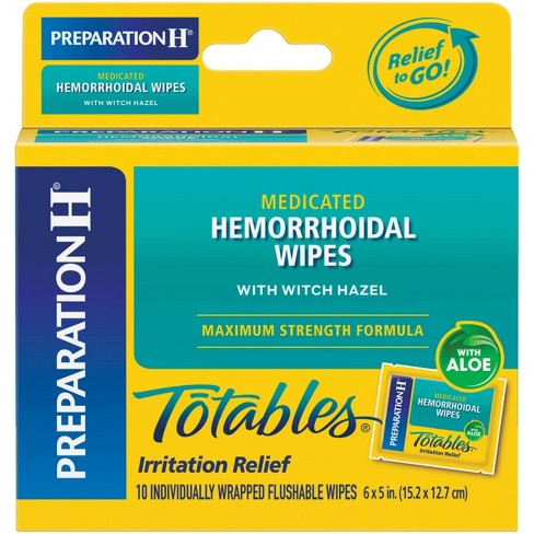 Preparation H Totables - 10ct - image 1 of 4