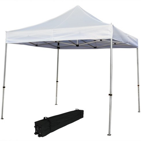 Quick Up 10 X 10 White Commercial Grade Aluminum Canopy