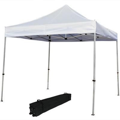 Quick-Up 10u0027 X 10u0027 White Commercial-Grade Aluminum Canopy - Sunnydaze Decor  sc 1 st  Target & Quick-Up 10u0027 X 10u0027 White Commercial-Grade Aluminum Canopy ...