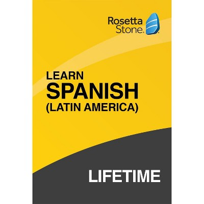 Rosetta Stone Lifetime Spanish LA