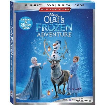 Olaf's Frozen Adventure Plus 6 Disney Tales (Blu Ray + Dvd + Digital) by Disney