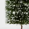 Bottle Brush Tree Figurine - Threshold™ - image 2 of 2