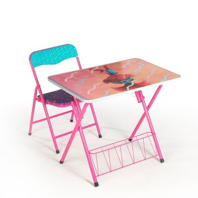 2pc Trolls Foldable Activity Desk and Chair Set
