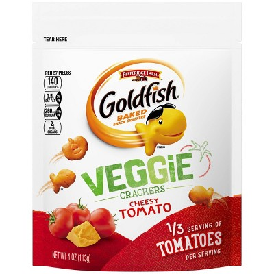Goldfish Veggie Tomato - 4oz