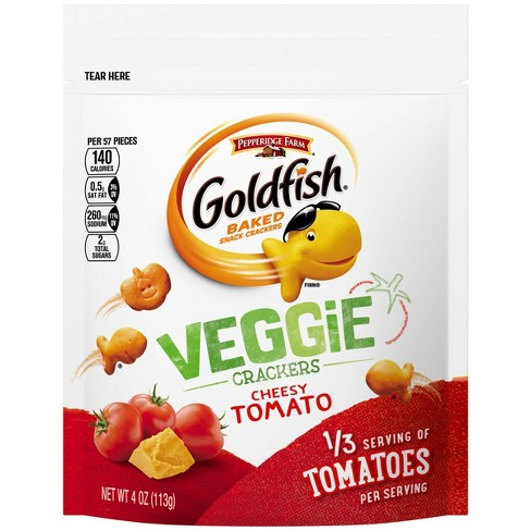 Image result for goldfish tomato crackers