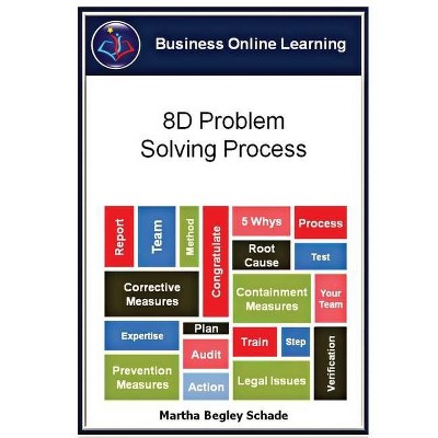8D Problem Solving Process - 2nd Edition by  Martha Begley Schade (Paperback)