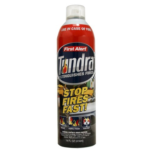 First Alert Tundra Portable Fire Extinguishing Aerosol Spray - image 1 of 1