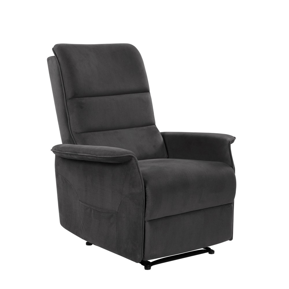 Image of Ignacio Multi Position Recliner Charcoal - Relax A Lounger
