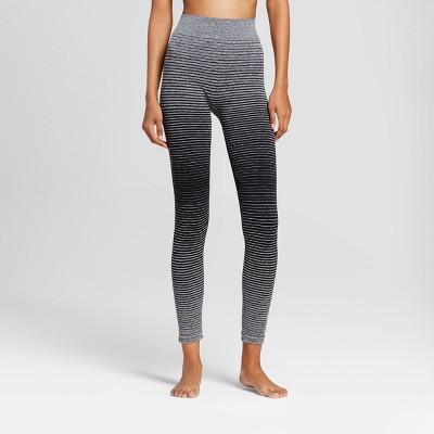 66f156438d272 Womens Striped Hosiery Leggings – Xhilaration™ Black S/M – Target ...