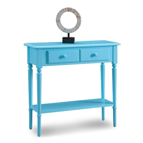 Console Table Blue - Leick Home - image 1 of 1