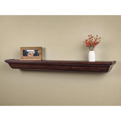 Mantels Direct Colton Floating Wood Fireplace Mantel Shelf