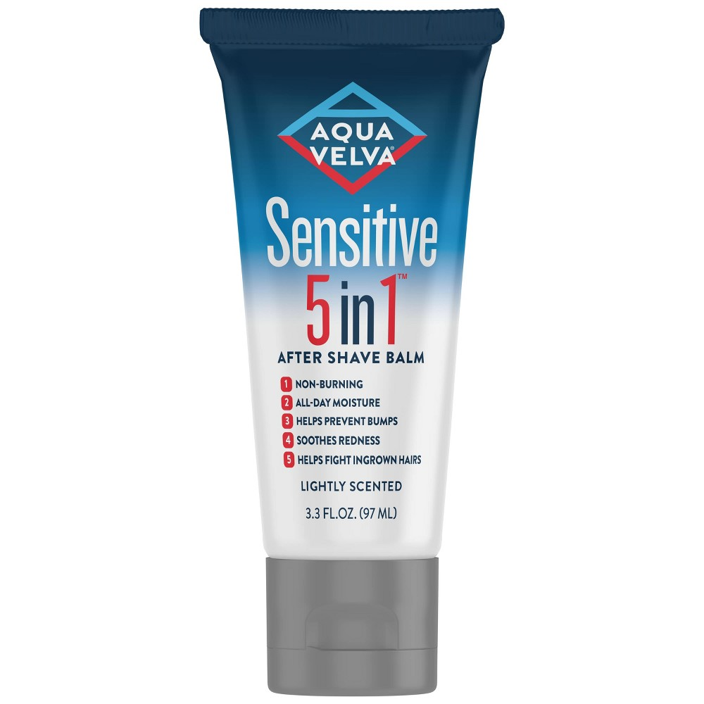 Image of Aqua Velva Sensitive 5 in 1 After Shave Balm - 3.3 fl oz
