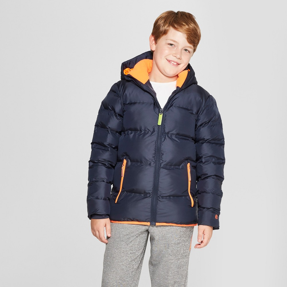 Boys' Puffer Jacket - C9 Champion Navy L, Blue