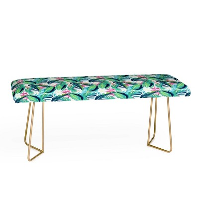 83 Oranges Tropical Eye Candy Bench - Deny Designs