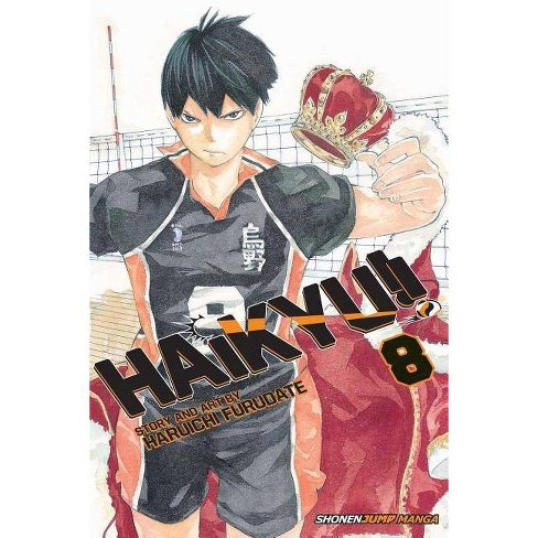 Haikyu!!, Vol. 8 - by  Haruichi Furudate (Paperback) - image 1 of 1