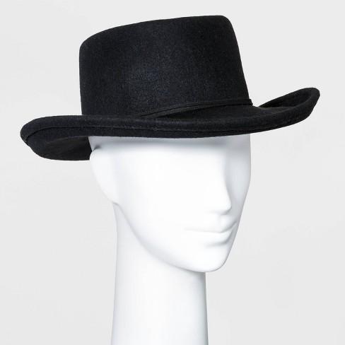 Women's Felt Boater Hat - Universal Thread™ - image 1 of 2