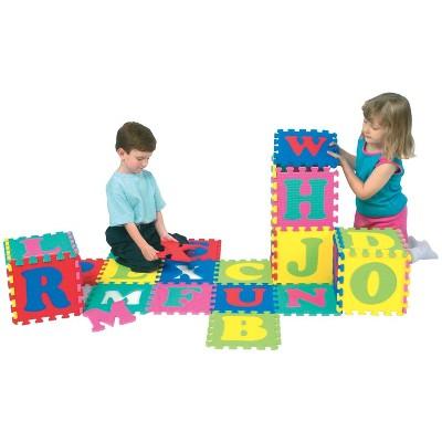 Wonderfoam Alphabet Interlocking Puzzle Mat, set of 52