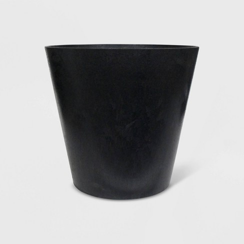 """6"""" Recycled Planter Black - Smith & Hawken™ - image 1 of 2"""