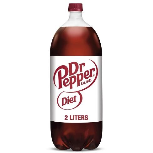 Diet Dr Pepper Soda - 2 L Bottle - image 1 of 4