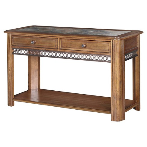 Console Table Brown - Magnussen Home - image 1 of 1