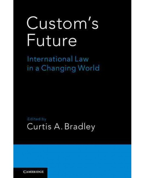 Custom's Future : International Law in a Changing World (Hardcover) - image 1 of 1