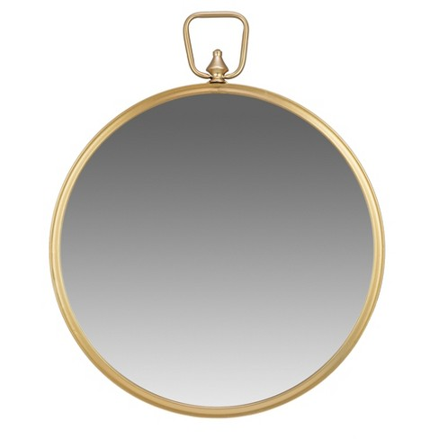 22 Wall Mirror With Decorative Handle Gold Patton Wall Decor Target