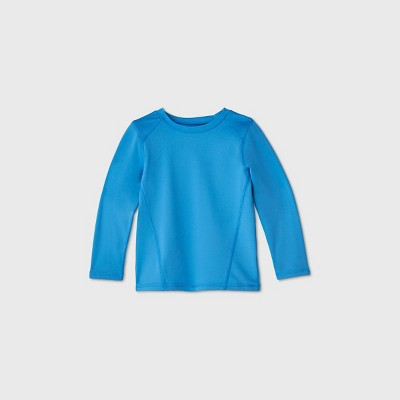 Toddler Boys' Long Sleeve Rash Guard - Cat & Jack™ Blue