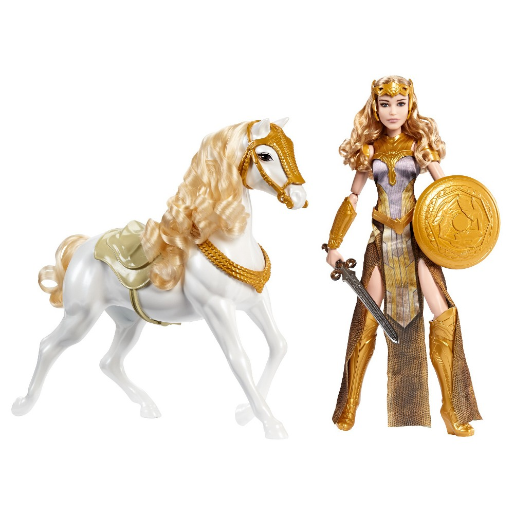 Wonder Woman Queen Hippolyta Action Doll and Horse Set