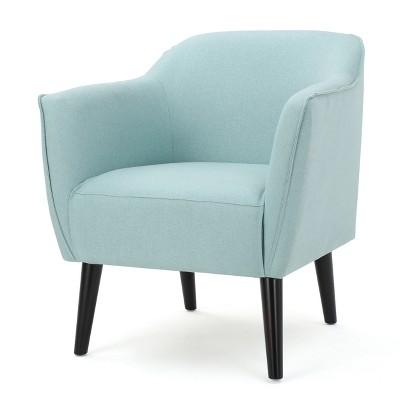 Alphonse Arm Chair - Light Blue - Christopher Knight Home