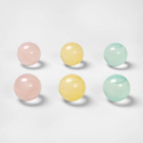 6pk Plastic Reusable Ice Cubes Sphere - Sun Squad™ - image 1 of 2