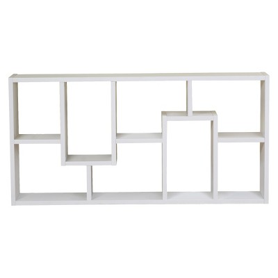 """71"""" Highpoint Contoured Bookcase White - HOMES: Inside + Out"""