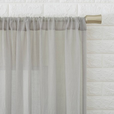 Sheer White Curtains Target, Sheer Patterned Curtains Nz