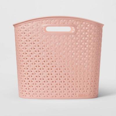 Y-Weave Curved Bin Pink XL - Room Essentials™