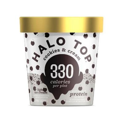 Halo Top Cookies & Cream Ice Cream - 16oz