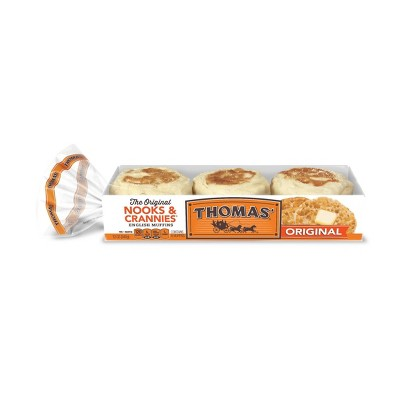 Thomas' Regular English Muffins - 12oz/6ct