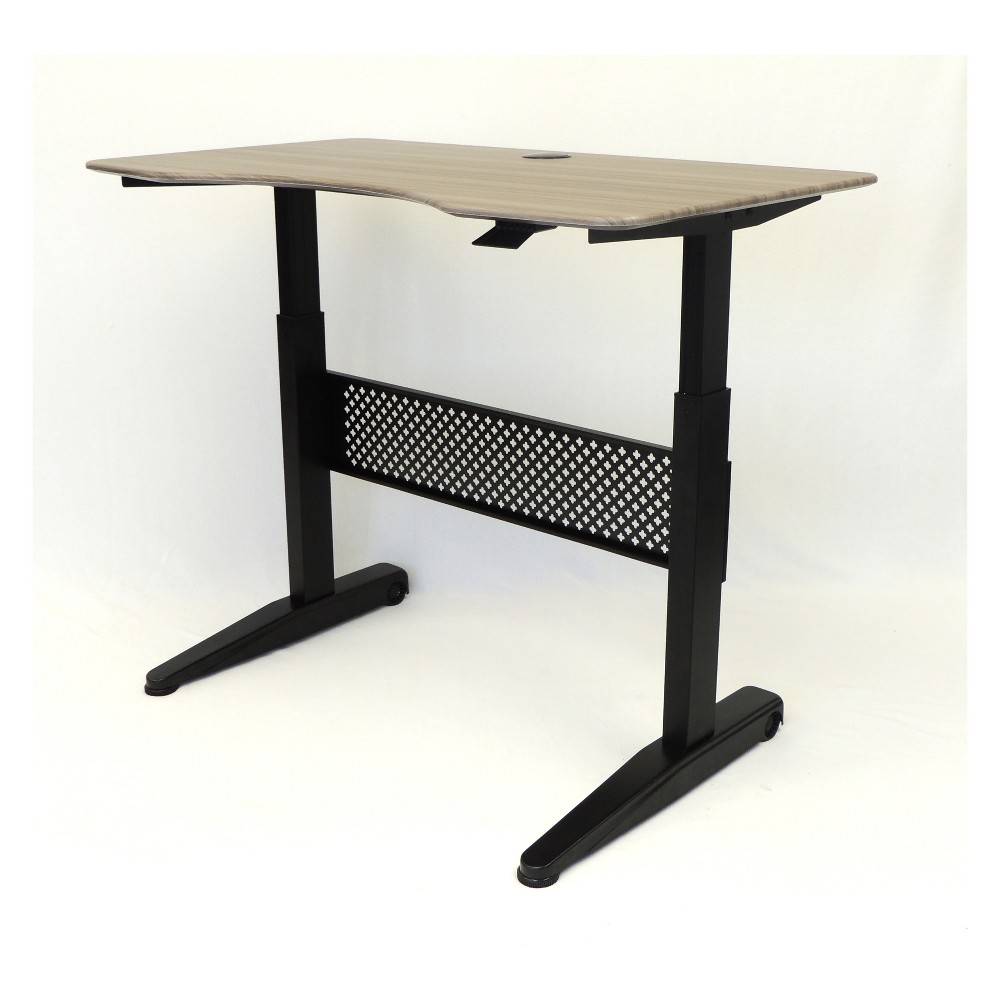 "Image of ""48"""" Height Adjustable Desk Driftwood - Boss"""