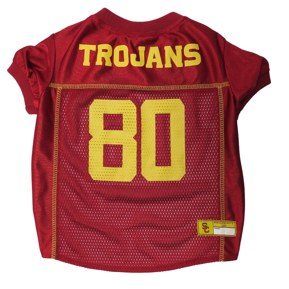 Pets First Usc Trojans Pink Jersey - S, Multicolored