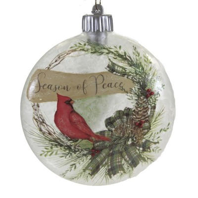 """Holiday Ornament 5.5"""" Led Cardinal Ornament Lighted Christmas  -  Tree Ornaments"""