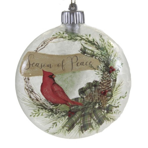 """Holiday Ornament 5.5"""" Led Cardinal Ornament Lighted Christmas  -  Tree Ornaments - image 1 of 3"""