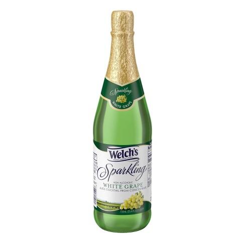 Welch's Sparkling White Grape Juice - 25.4 fl oz Glass Bottles - image 1 of 4