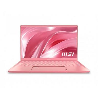 """MSI Prestige 14 EVO 14"""" Laptop Intel Core i5-1135G7 16GB RAM 512GB SSD Rose Pink - 11th Gen i5-1135G7 Quad-core"""